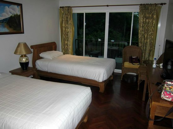 Chada Thai House: Twin Room