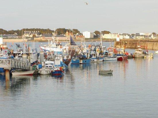 Au Bon Accueil : bateaux des pêcheurs