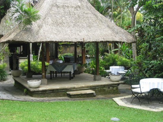 Warwick Ibah Luxury Villas & Spa: Breakfast place