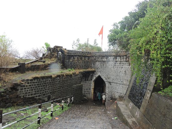 Satara, India: Entrance to the fort