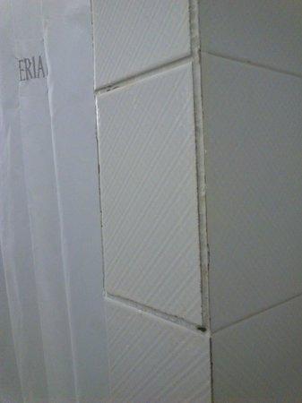 Hesperia Murcia : azulejos con juntas mugrientas