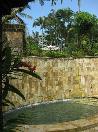 Warwick Ibah Luxury Villas & Spa: View from the childrens pool