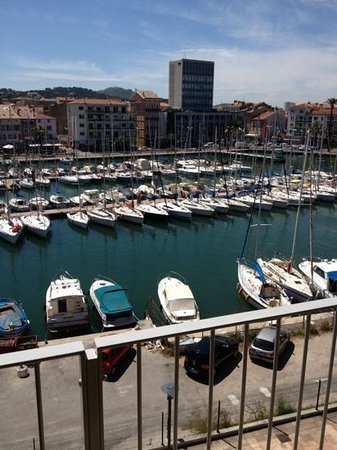 Kyriad Prestige Toulon - L S S M - Centre Port : View from the room