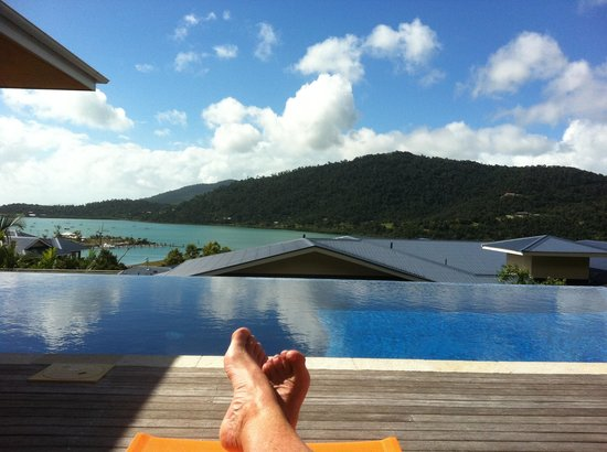 Peppers Airlie Beach: Pool relaxing