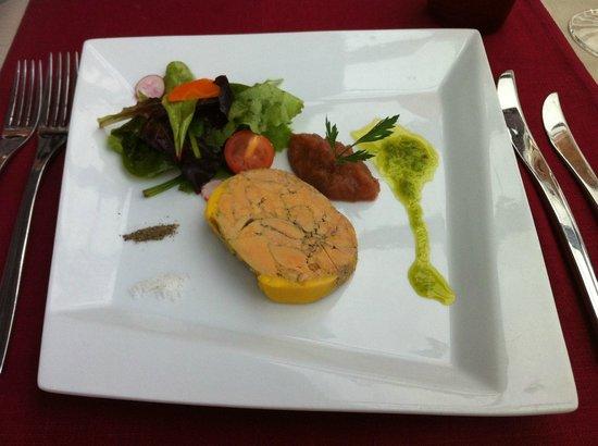 Lugrin de Sel: le foie gras