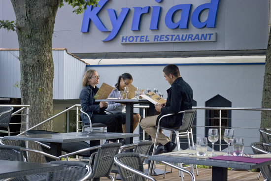 Kyriad La Roche Sur Yon : terrasse