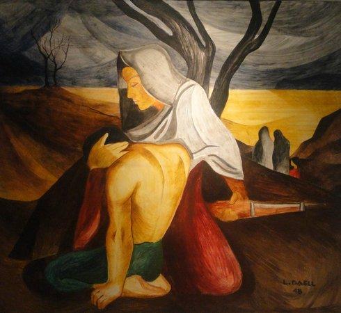 Museo de Arte Costarricense: La Piedad - Luis Daell Avila (1948)