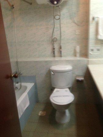 Bintumani Hotel: Ablutions