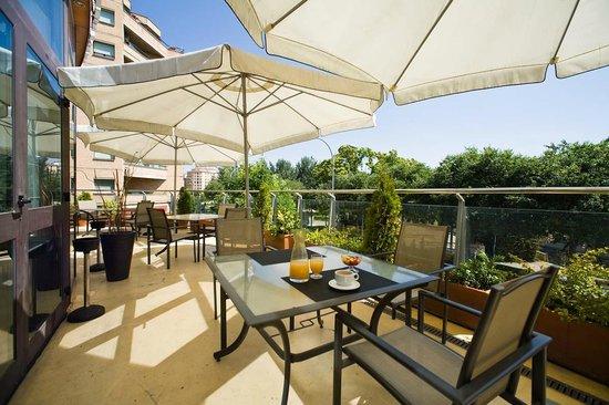 Hotel Tudela Bardenas : Terraza del restaurante