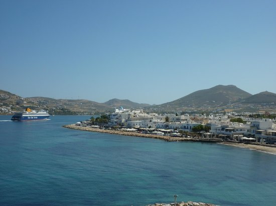 Pandrossos Hotel: View of seafront