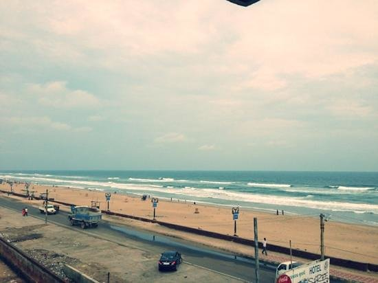 Puri Beach: sea-view from the balcony