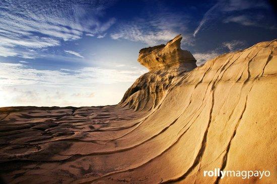 Ilocos Norte Province, Philippinen: Kapurpurawan Rock Formations