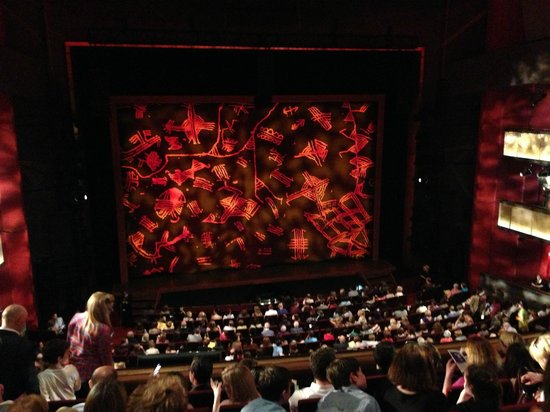 bord gais theatre grease ~ our comfortable and spacious 3 levels of seating  picture