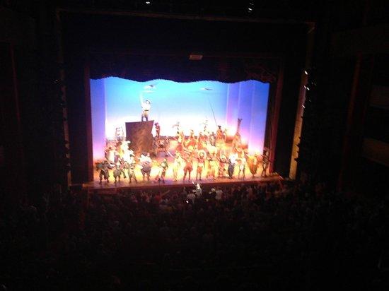 Bord Gais Energy Theatre: Ending