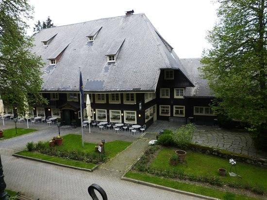 Parkhotel Adler : Blick auf  Restaurant und Bar
