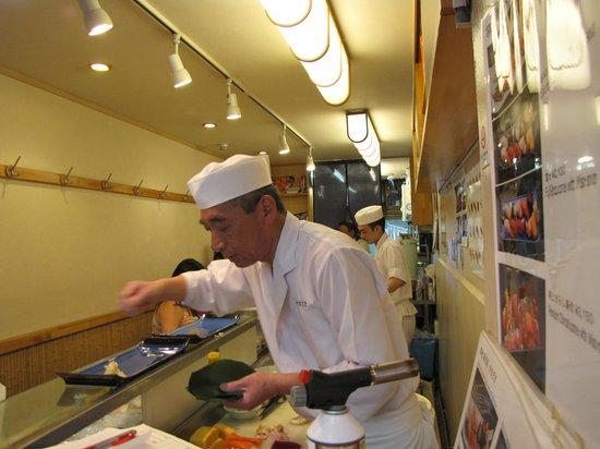 Yamazaki: Le cuisinier