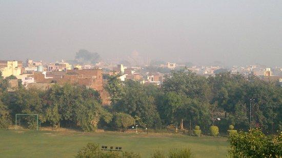 ITC Mughal, Agra : Taj View from Hotel