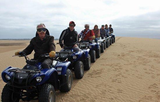 Kuiseb Delta Adventures: The family enjoying themselves