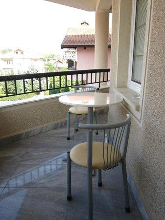Hotel Victoria : Balcone della camera