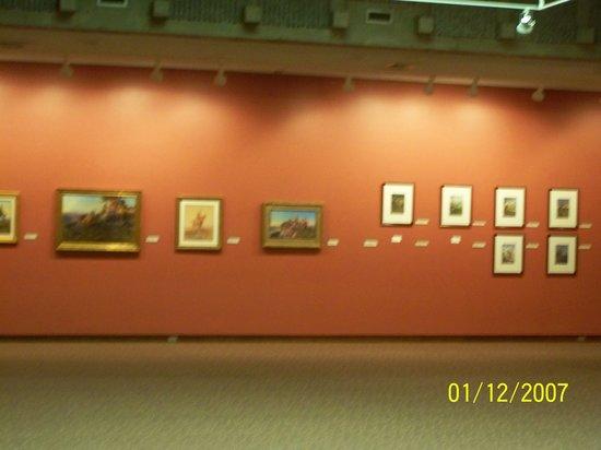 C.M. Russell Museum : nice display