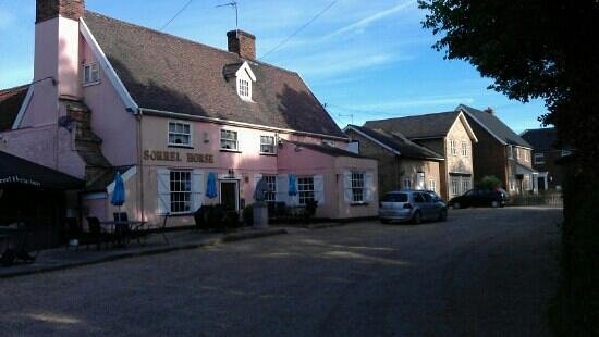 Sorrel Horse Inn: lovely 'oldy worldy' pub