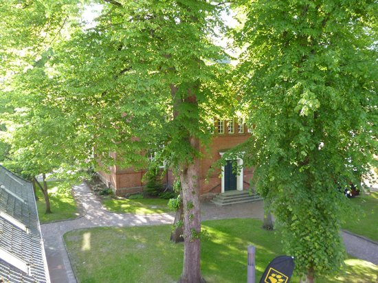 """Altstadthotel Twardokus: View to the """"Lambert Hof"""""""