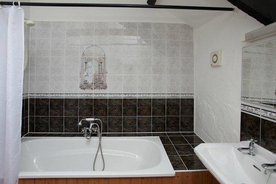 Treworgie Barton: Bathroom in Bligh