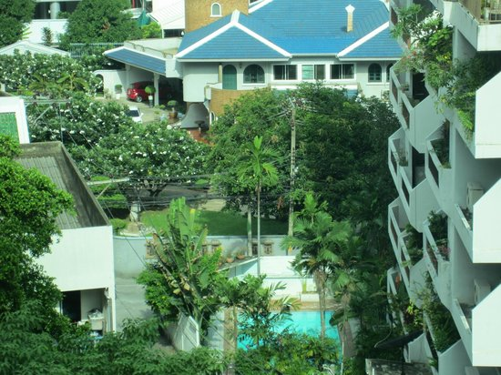 Adelphi Suites Bangkok: View from Room