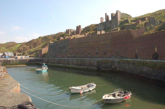 Porthgain Harbour: Brick Factory, Porthgain