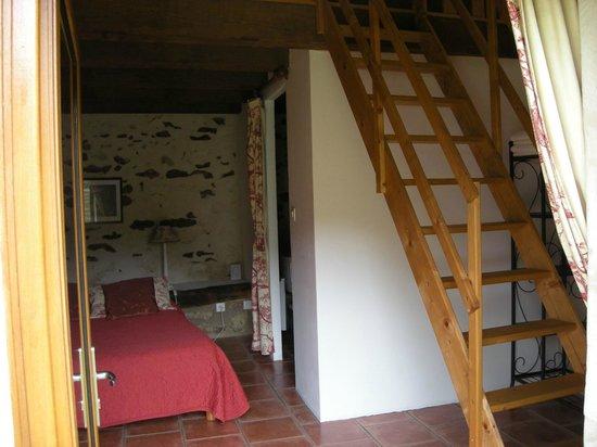 Chambre d'hote Chez Elsa et Gildas : chambre framboise