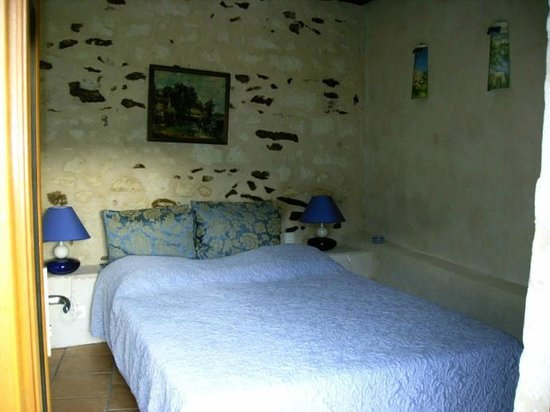 Chambre d'hote Chez Elsa et Gildas: chambre blue
