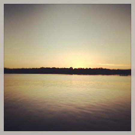 The Island Restaurant at Lusty Beg Island: Lusty Beg Sunset