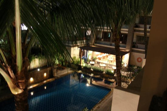 The Vira Bali Boutique Hotel & Suite: view from room 307