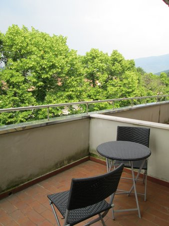 Regal Hotel and Apartments: Il balcone