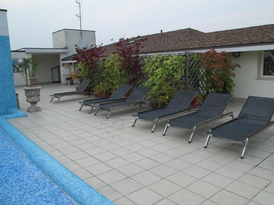 Regal Hotel and Apartments: Sdrai a bordo piscina