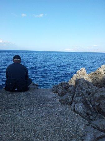 Zarbo di Mare: Bathing platform