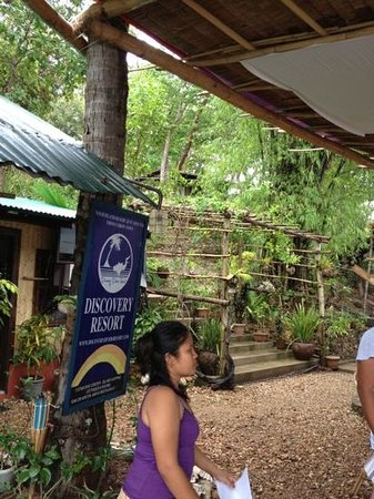 Discovery Divers Coron : Reception and Restaurant