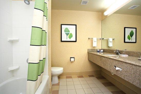 Fairfield Inn & Suites by Marriott Jacksonville Beach: Guest Bathroom