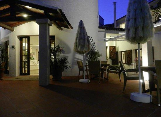 Hotel Mon Repos Hermitage: Hoteleingang
