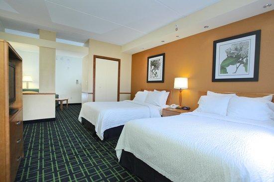 Fairfield Inn & Suites by Marriott Jacksonville Beach: Double Suite