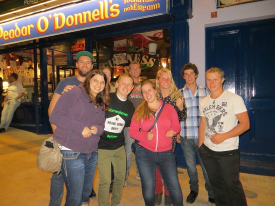 Historic Derry Pub Tour: on the traditional trail outside Peadar O'Donnells