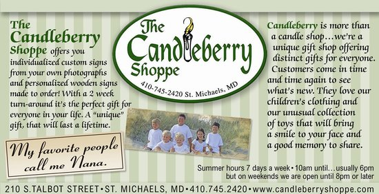 The Candleberry Shoppe: Custom Signs