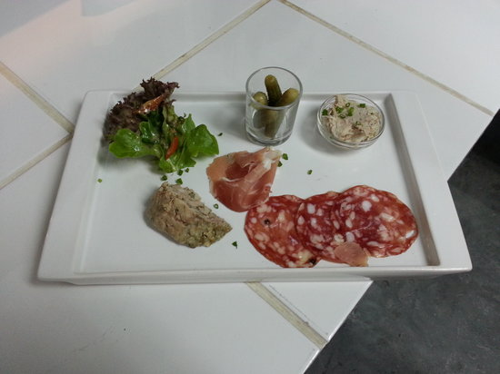 The Place... : petite assiette anglaise