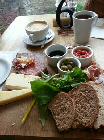 Talgarth Mill: Tapas - all fresh, local ingredients