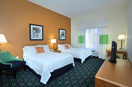 Fairfield Inn & Suites by Marriott Jacksonville Beach: Double Room