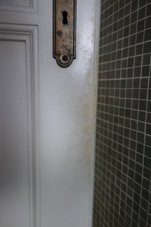 Villa Cappellina: Badezimmertür