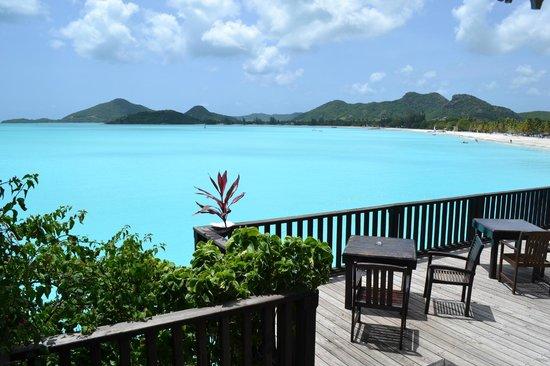 COCOS Hotel Antigua : terrazza