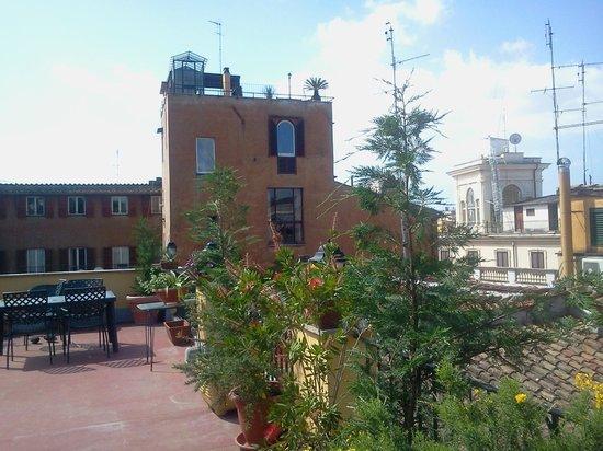 Domus Valeria : terrazza