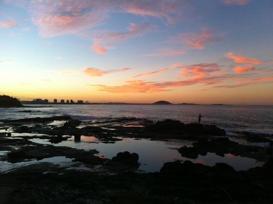 Bellardoo Holiday Apartments: Mooloolaba beach sunset ...ahh, the serenity!