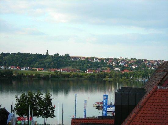 Strandhotel Seehof: Blick zum See